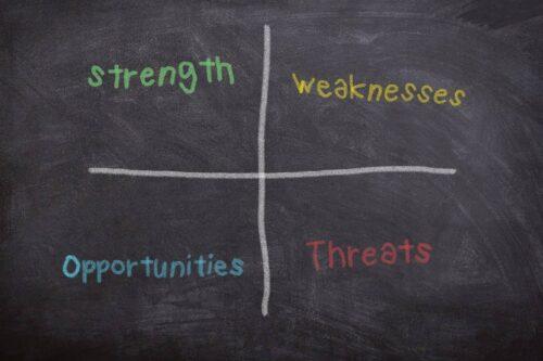 SWOT: l'art de changer les faiblesses en force et les menaces en opportunités